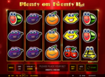 Plenty on Twenty™ II hot Paytable