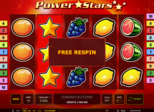 Power Stars™ Paytable