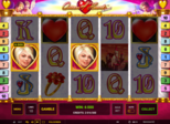 Queen of Hearts™ deluxe Paytable