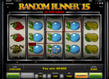 Random Runner™ 15 Paytable