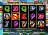 Rings of Fortune Paytable