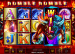 Rumble Rumble Paytable