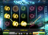 Shooting Stars Paytable