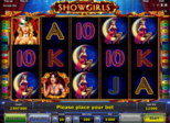 ShowGirls™ Paytable