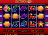 Sizzling Hot™ deluxe Paytable