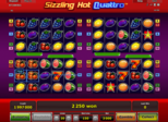 Sizzling Hot Quattro™ Paytable