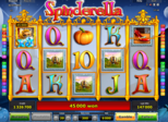 Spinderella Paytable
