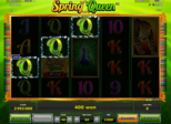 Spring Queen Paytable