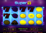 Super 5™ Paytable