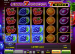 Ultra Sevens Paytable