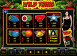 Wild Thing™ Paytable