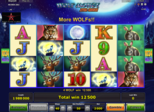 Wolf Money Xtra Choice Paytable