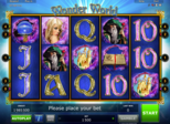 Wonder World™ Paytable